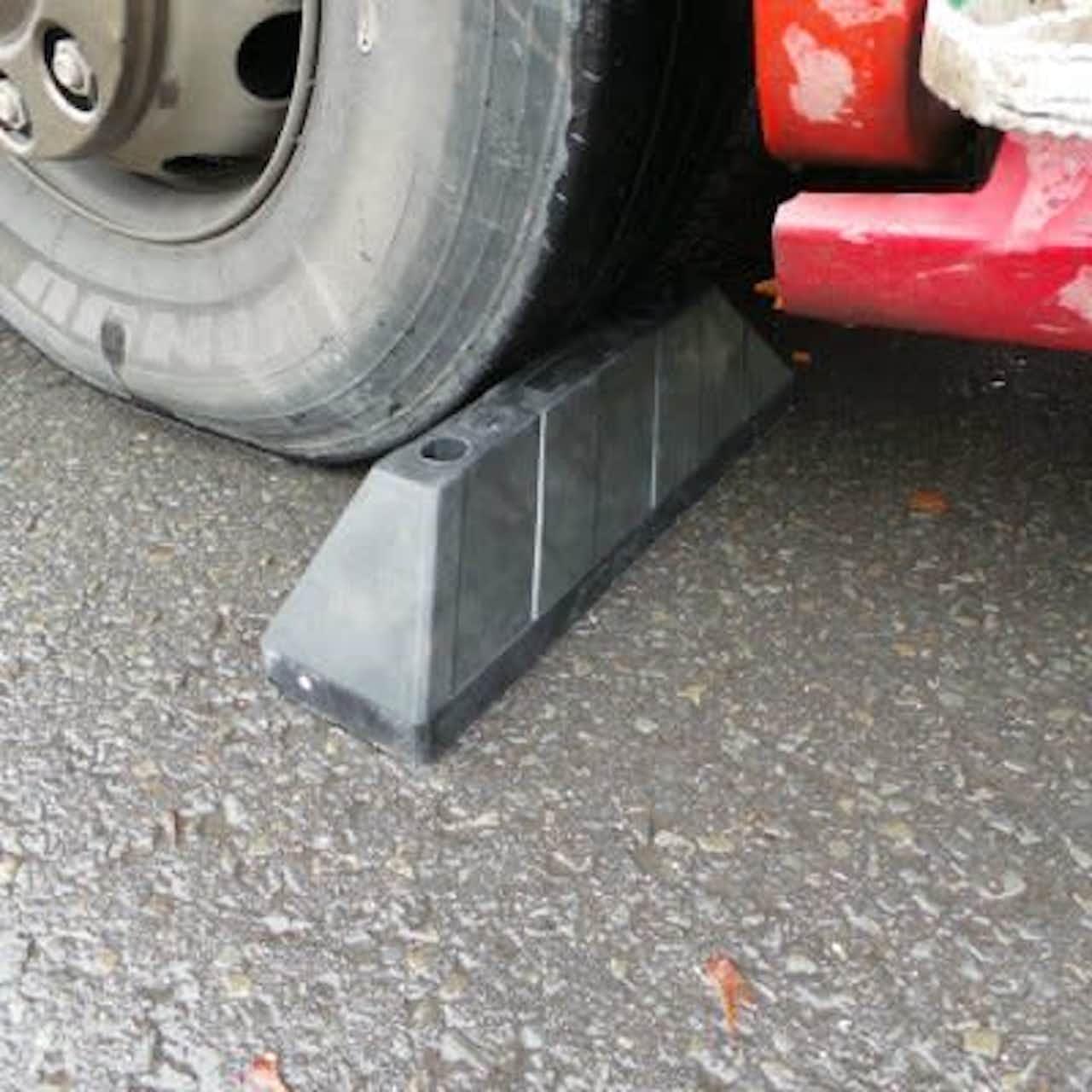 truck wheel stops