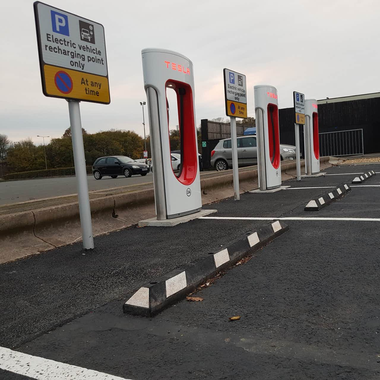 wheel stops for ev charging stations